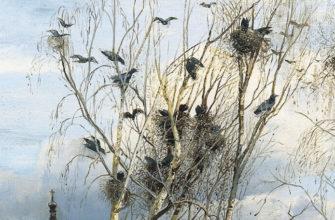 «Грачи прилетели», картина Саврасова