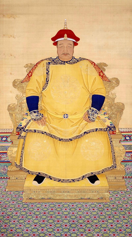 Император Хун Тайчжи Анонимный Придворный Художник Династии Цин-Дворцовый Музей, Пекин