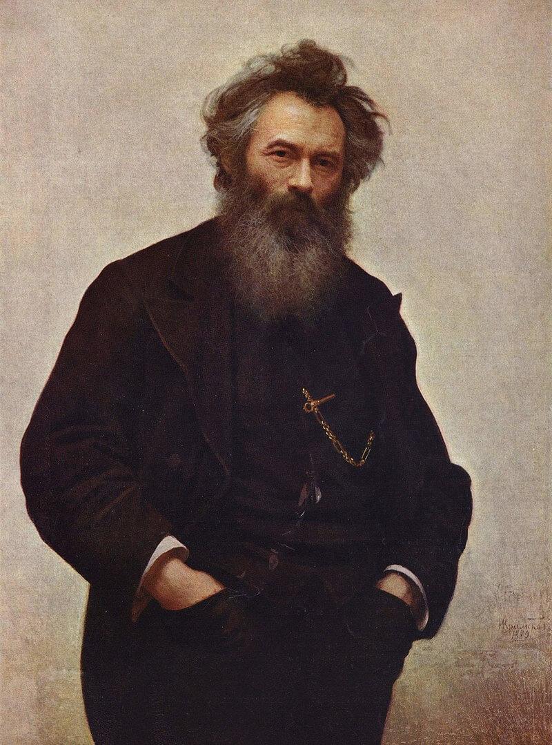 Иван Николаевич Крамской «Портрет Ивана Ивановича Шишкина»