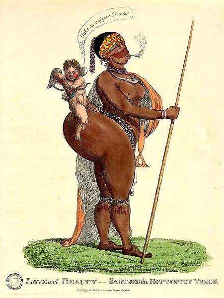 Карикатура начала XIX века.