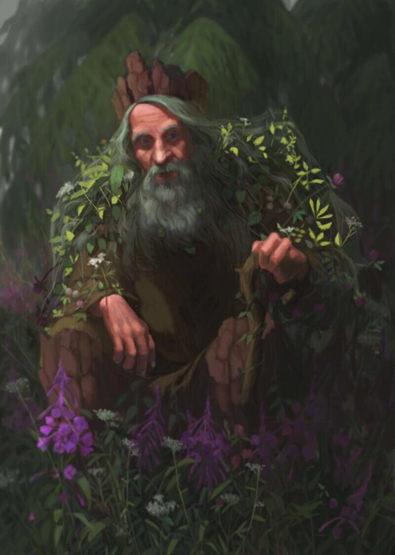 Леший - мифологический славянский персонаж