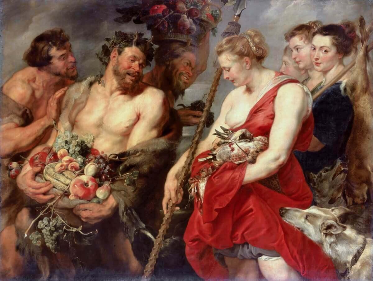 Питер Пауль Рубенс «Возвращение Дианы с охоты», 1615 год