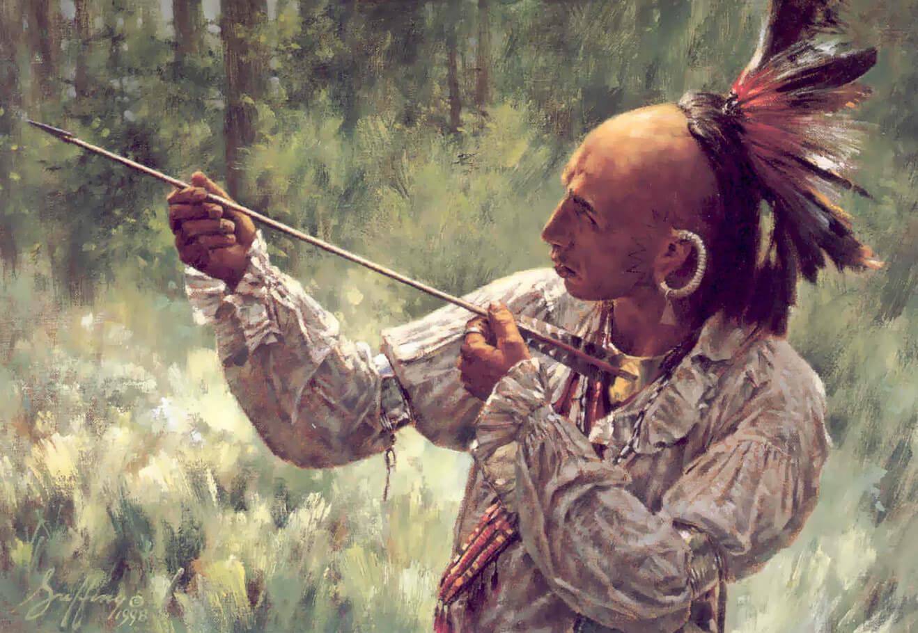 Роберт Гриффин Племя ирокезов