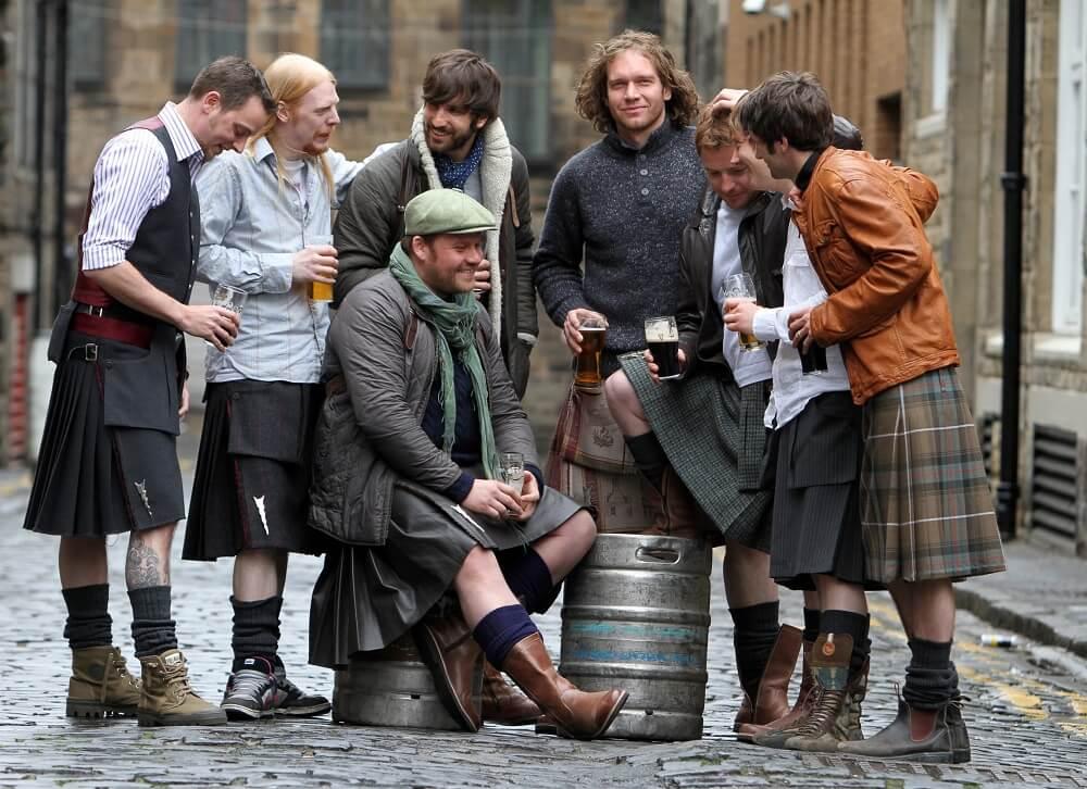современные шотландцы