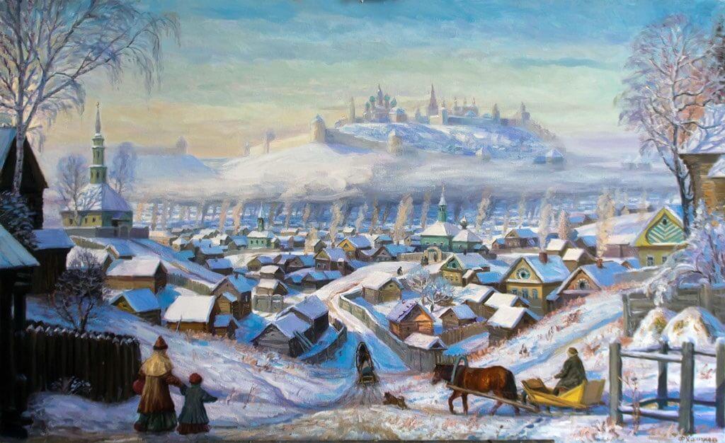 Утро древней казани 2011 Фиринат Халиков art16.ru