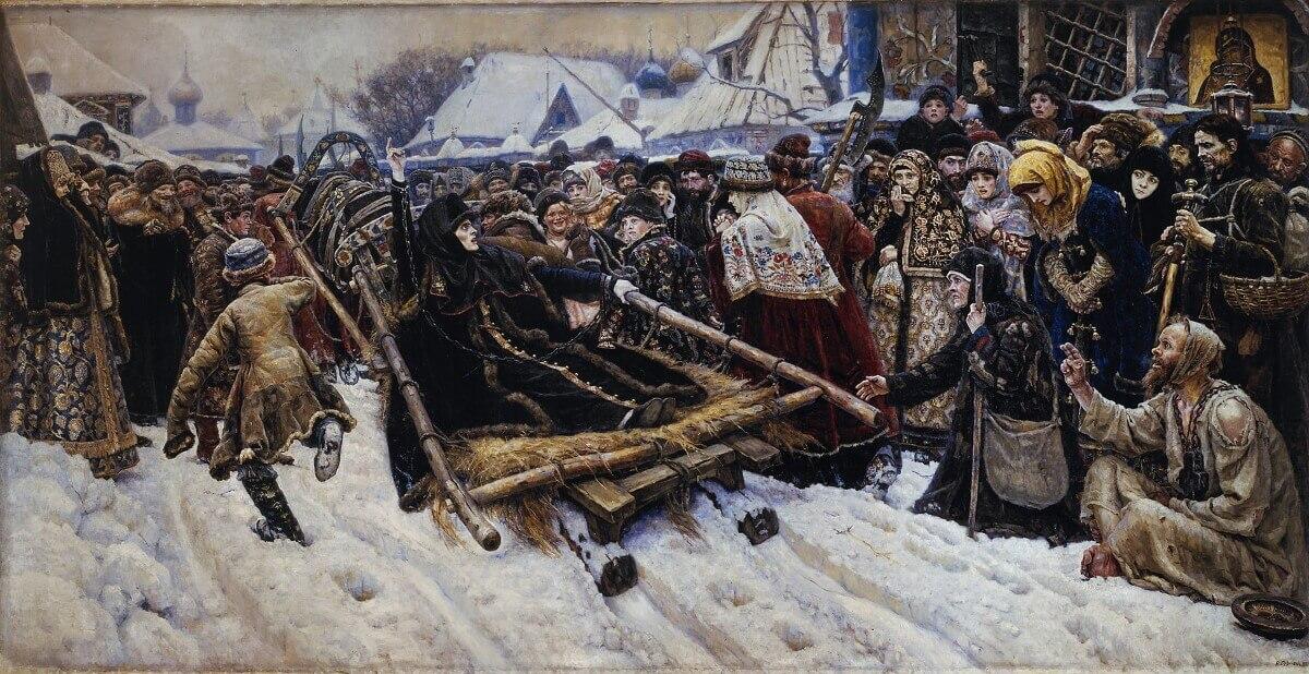Василий Иванович Суриков «Боярыня Морозова»