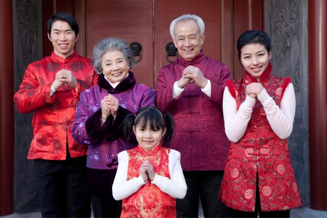 Встреча Нового года в кругу семьи
