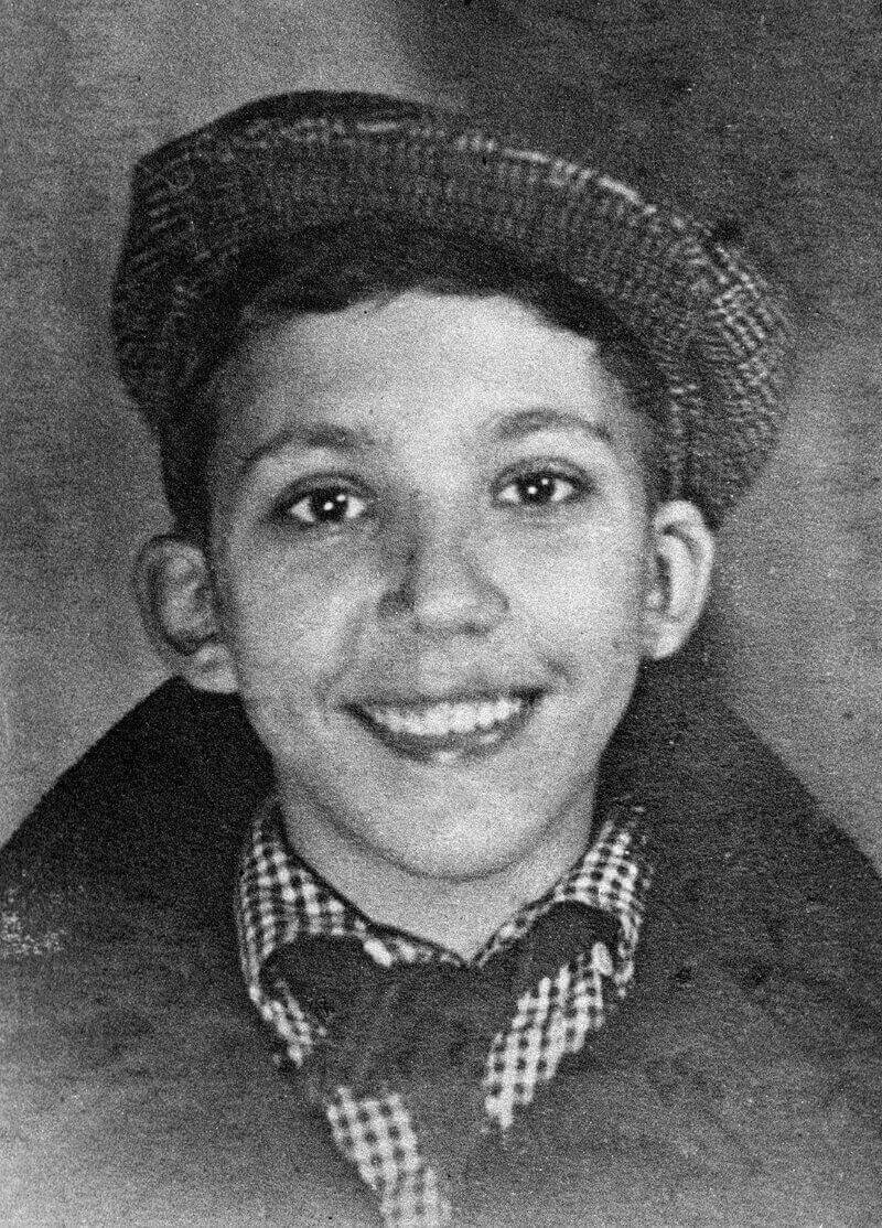Юрий Никулин в школьные годы, 1935 год