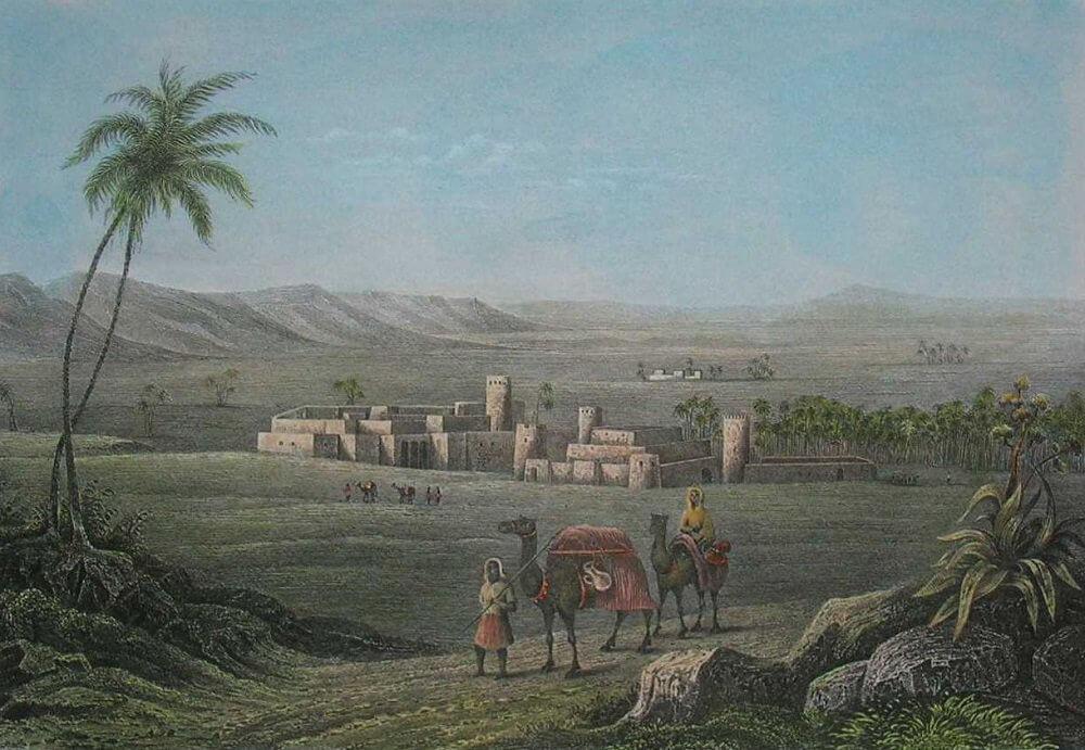 Мизда, Ливия, 19 век