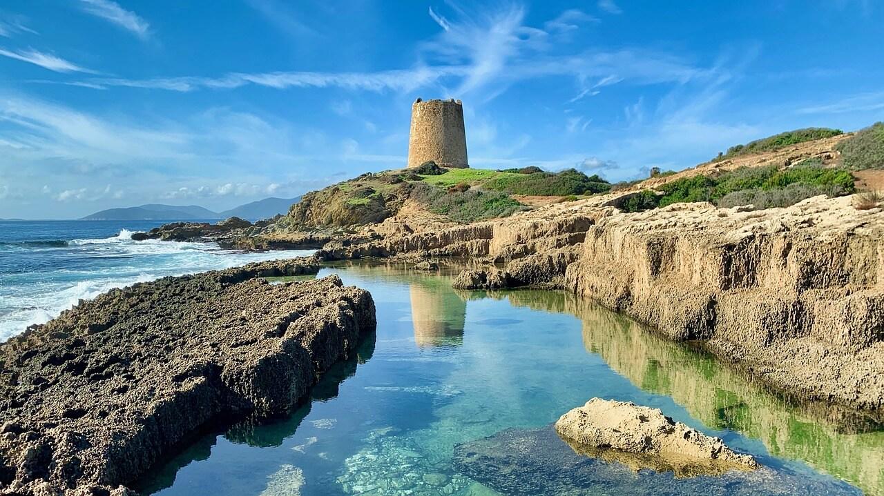 Башня на Сардиния