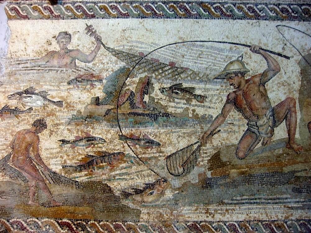 Древняя ливийская мозаика