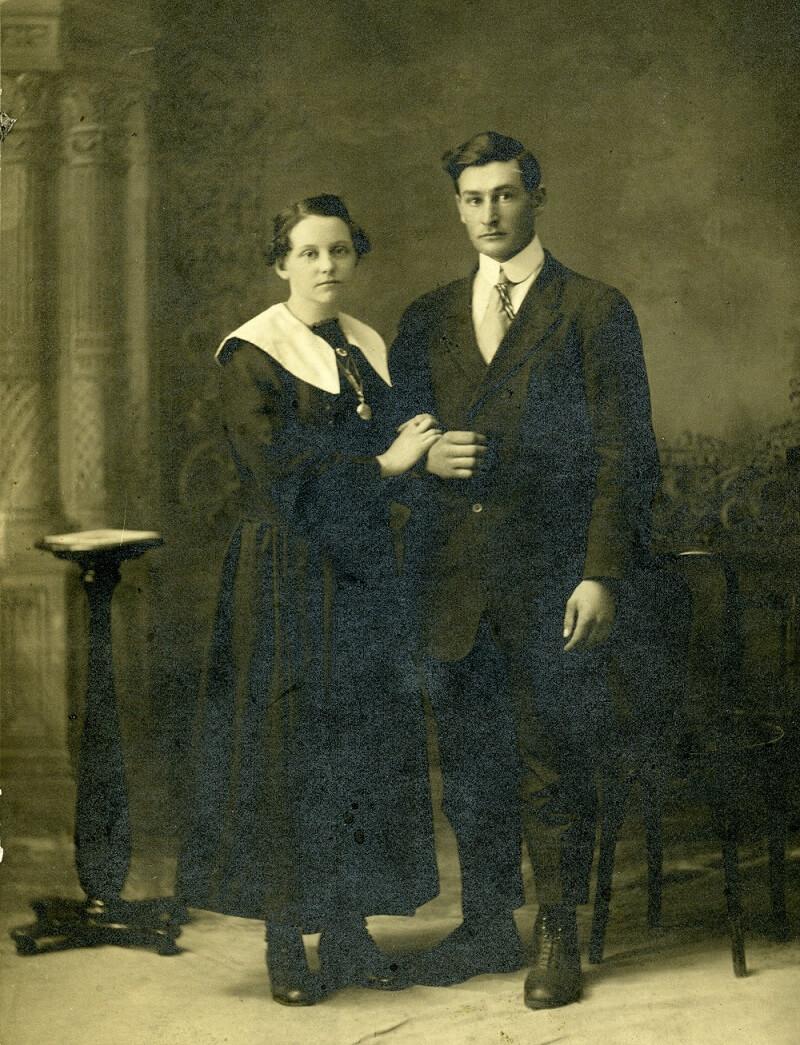 Франкоканадская пара 1890 года