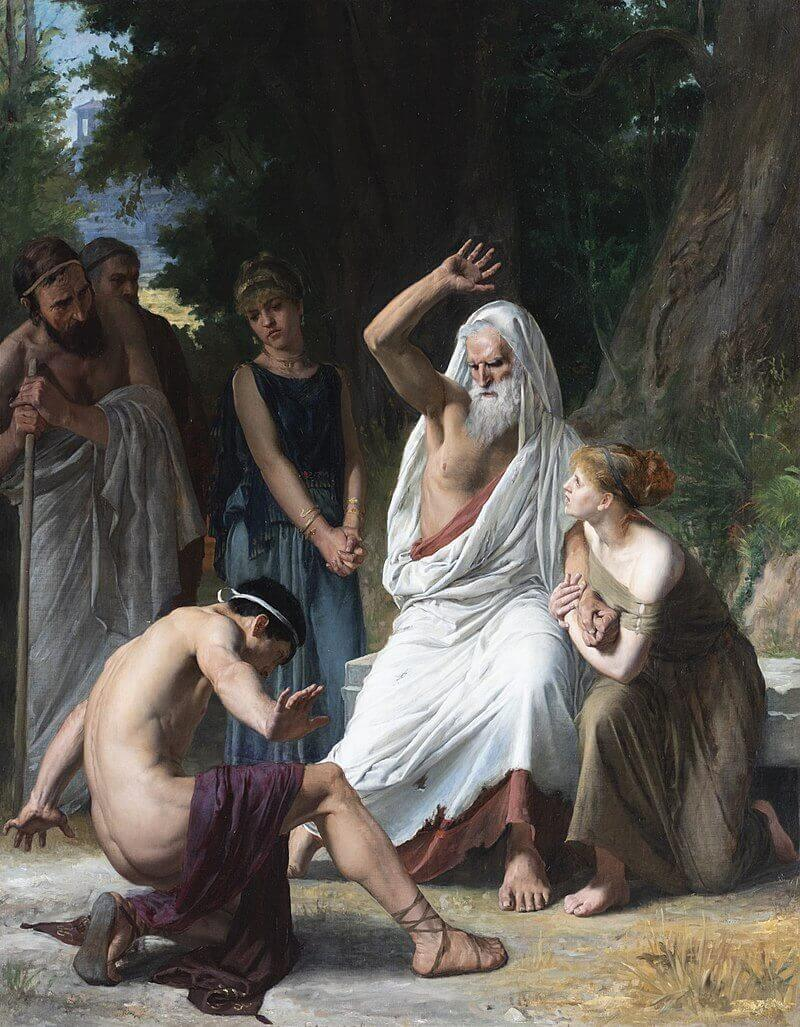 Gaston Charpentier-Bosio «Эдип и Полиник»
