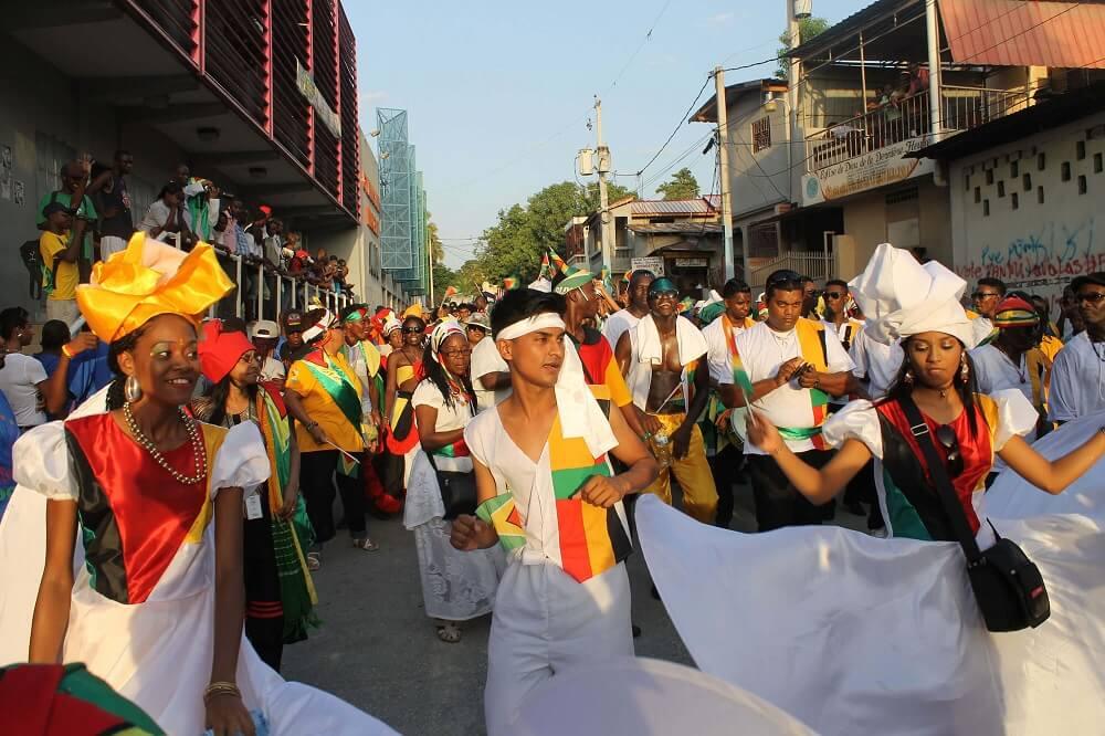 Гайанцы на фестивале