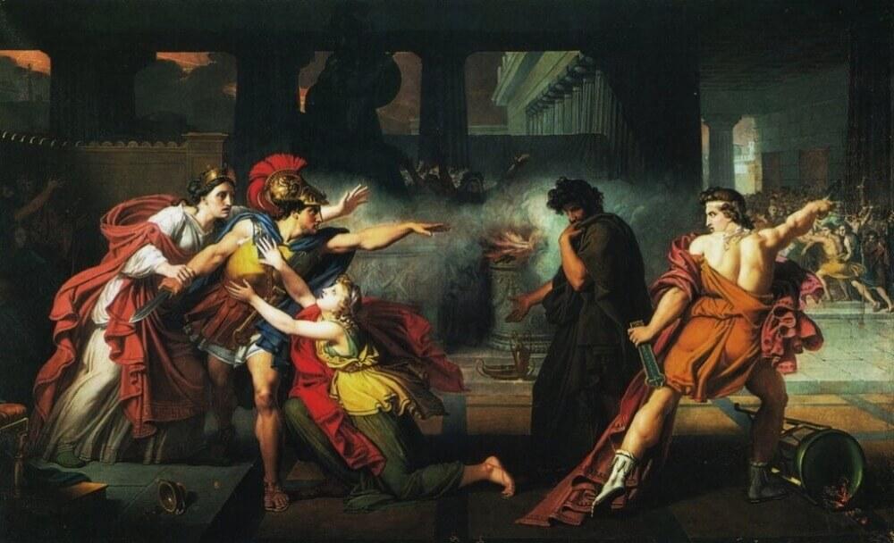 Giovanni Silvagni «Этеокл и Полиник»