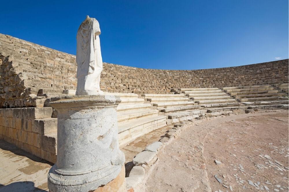 Город Саламин, Кипр