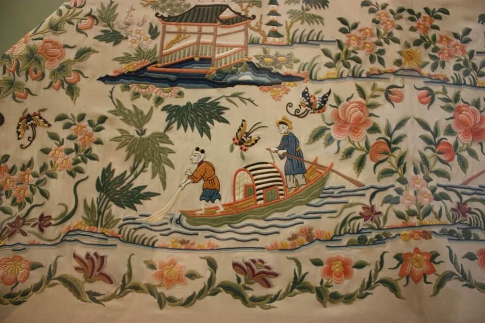 Ханьская вышивка 1870-1920 год