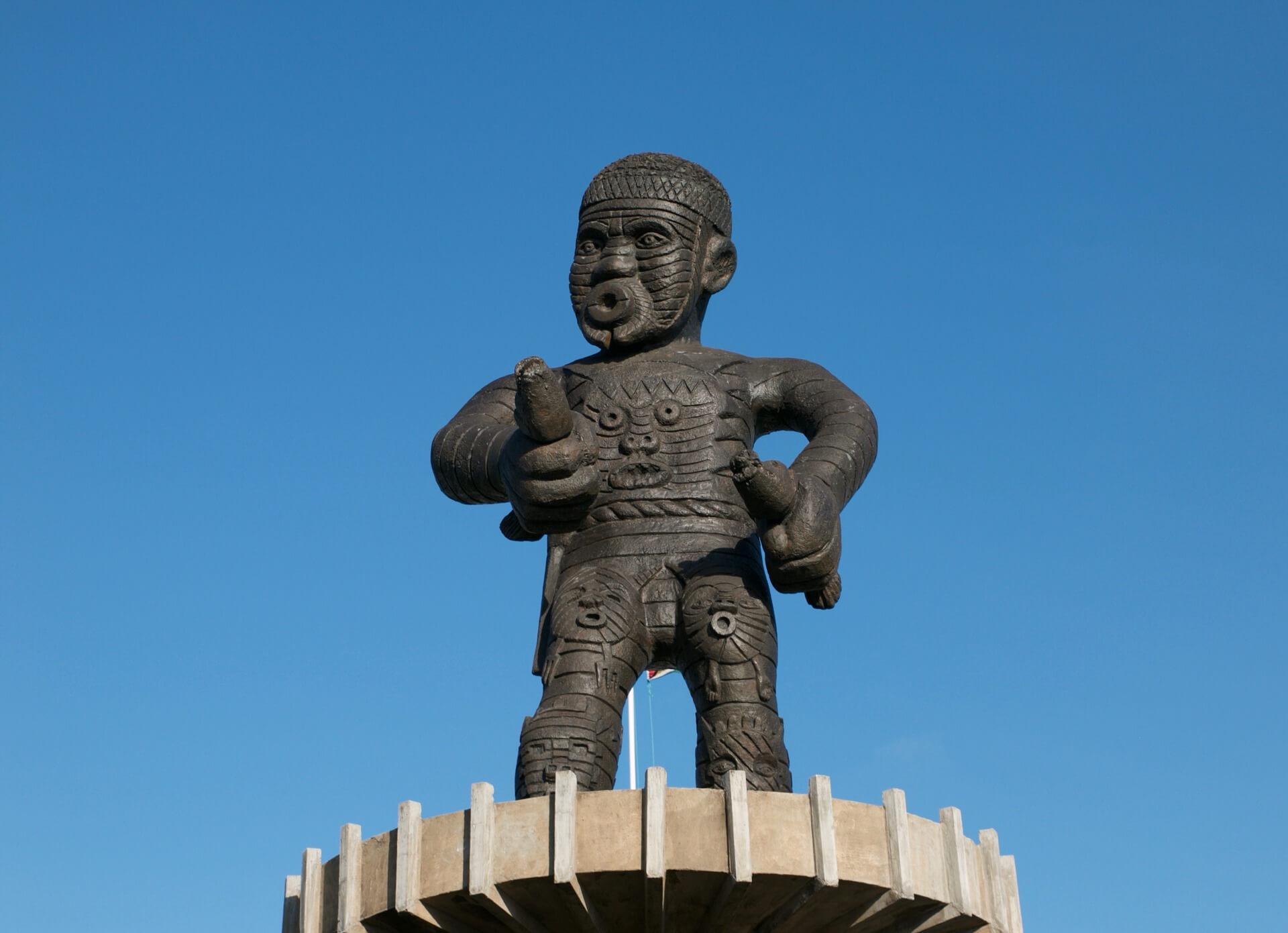 Монумент в Гайане