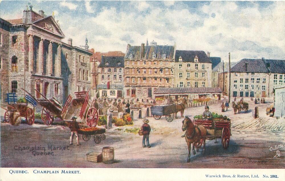 Франкоканадский город Квебек
