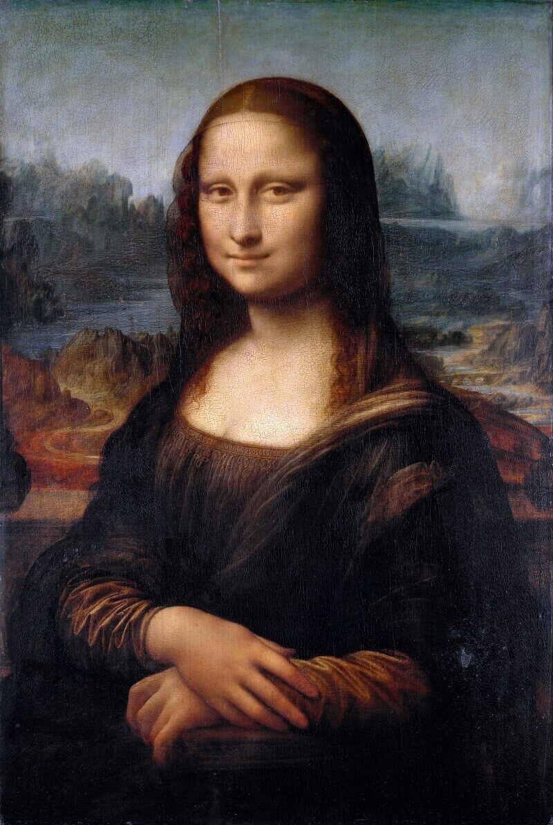 Леонардо да Винчи «Мона Лиза» или «Джоконда»
