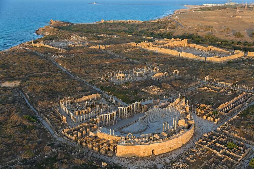 Лептис Магна - древнейший город Ливии
