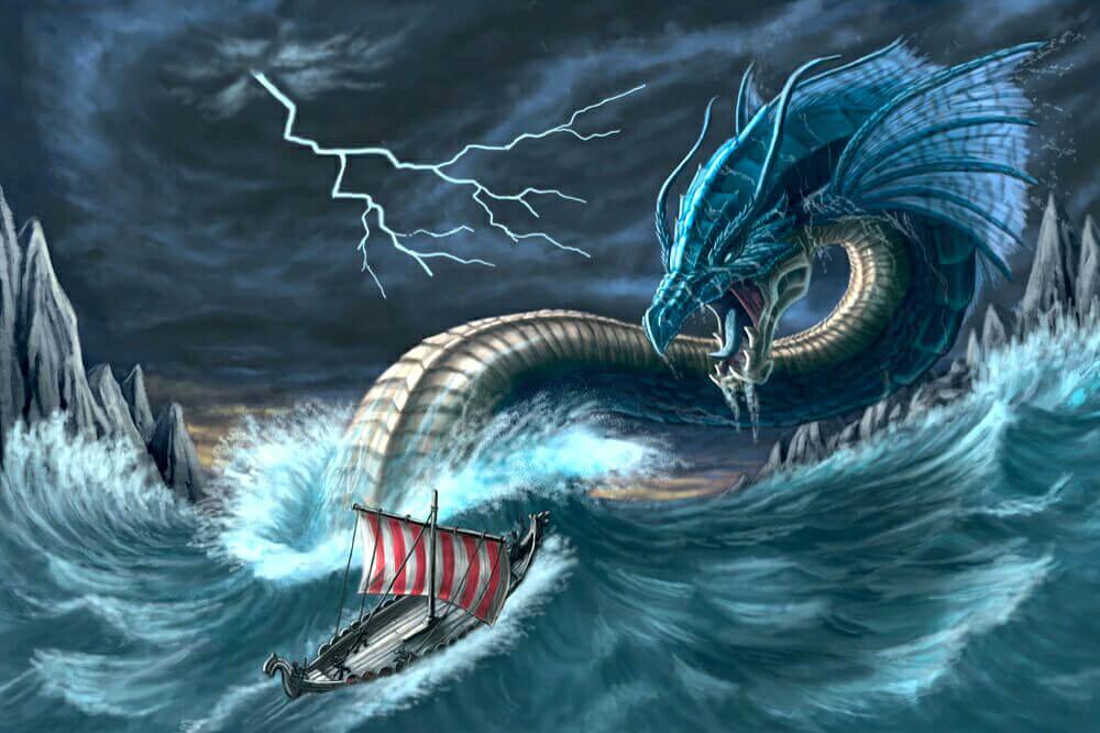 Левиафан - гигантский морской змей