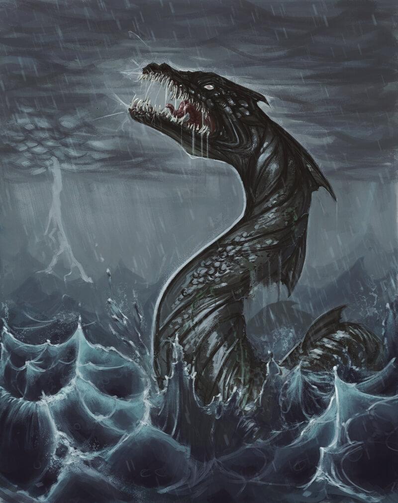 Левиафан - мифологический монстр