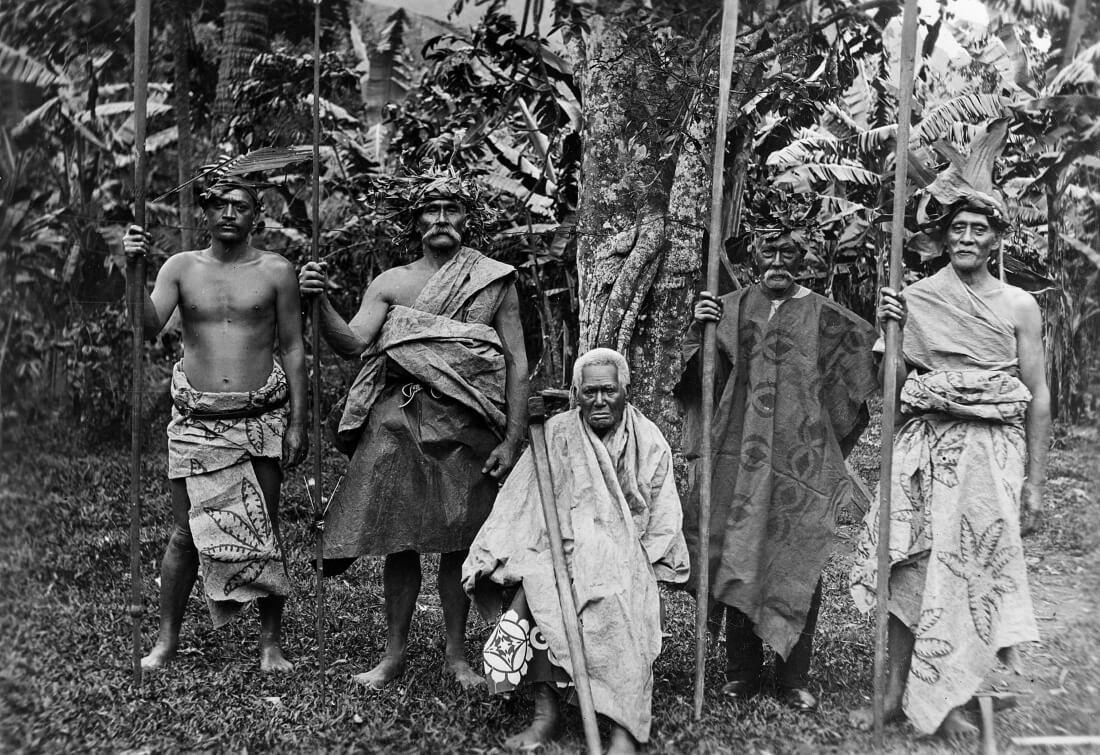 Маори островов Кука