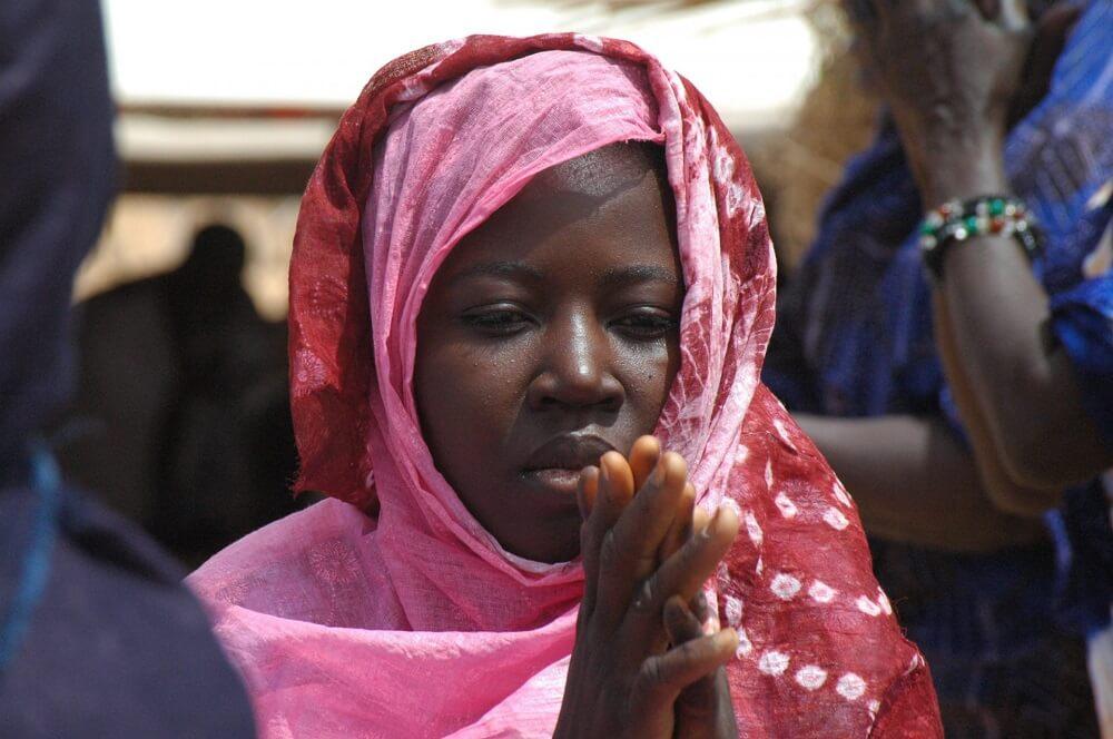 Мавританка за молитвой