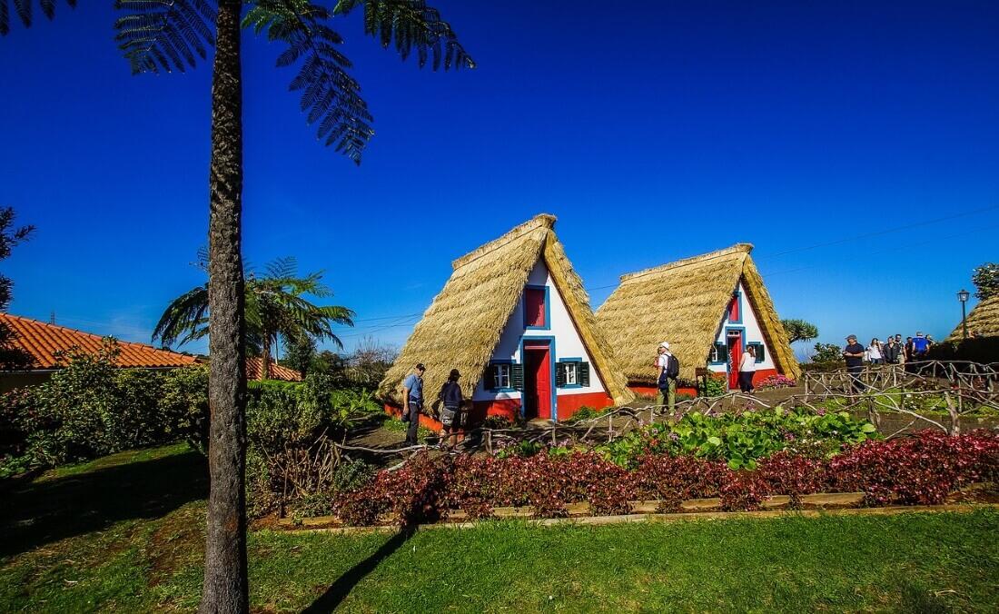 Палхейрос - традиционные португальские жилища