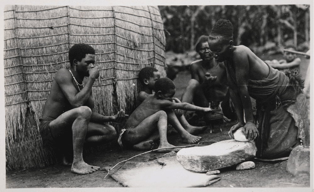 Приготовление пищи О. Тугвелл (фотограф) 1900 год