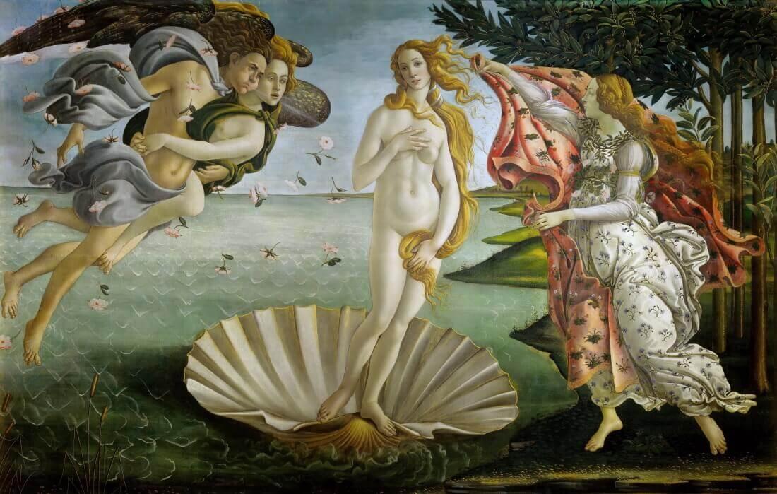 «Рождение Венеры» - кем была богиня с картины Боттичелли?