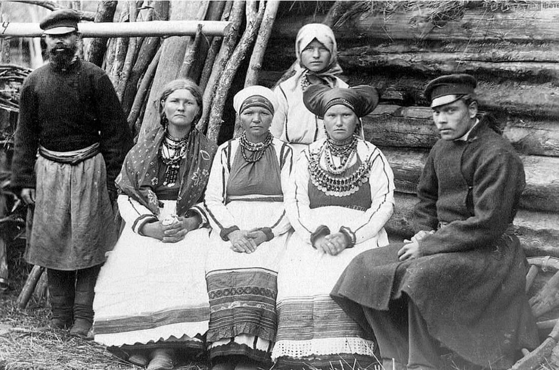 Семья мордвинов, 1901 год