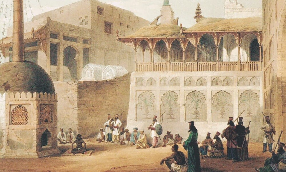 Синд родное государство синдхов картина основанная на рисунках Lietenant Уильям Эдвардса