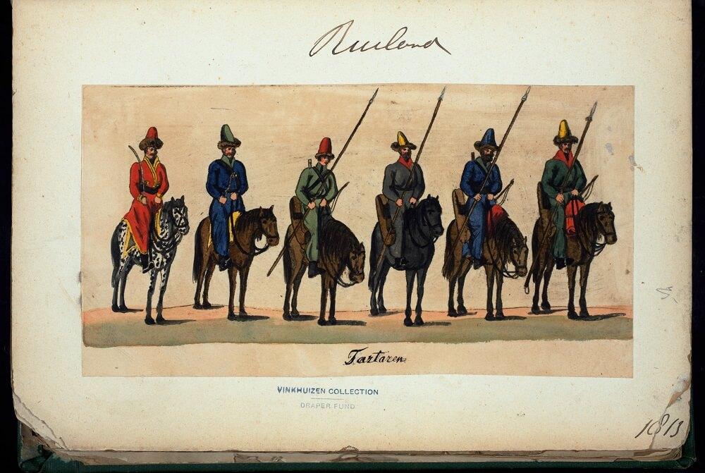 Татары в Российской армии,1813