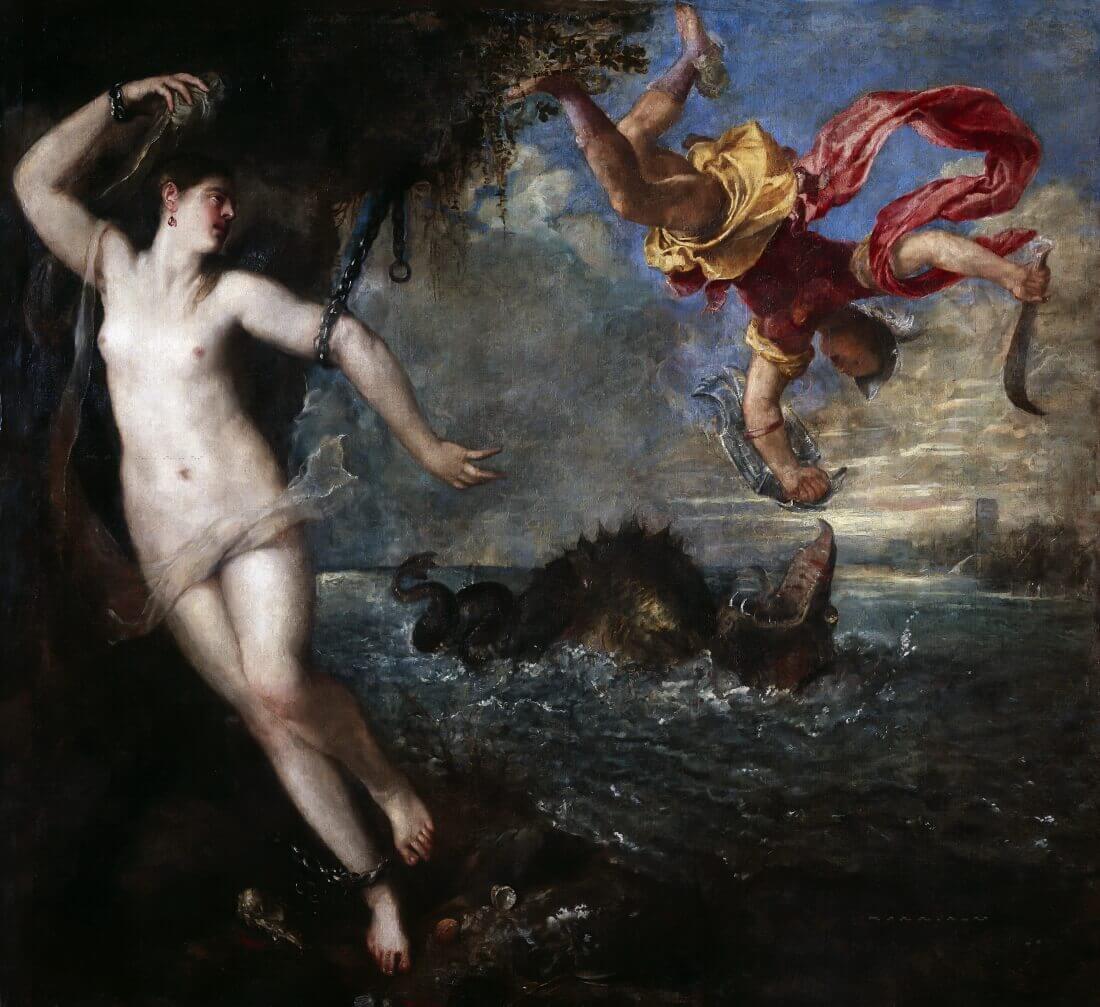 Тициан – Персей и Андромеда