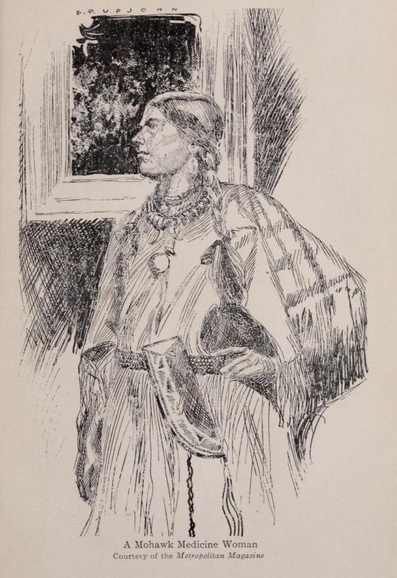 Целительница из племени могавков