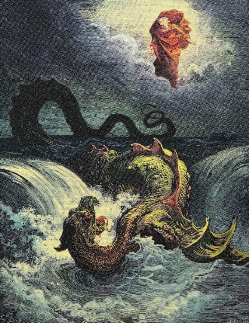 Уничтожение Левиафана Гюстава Доре