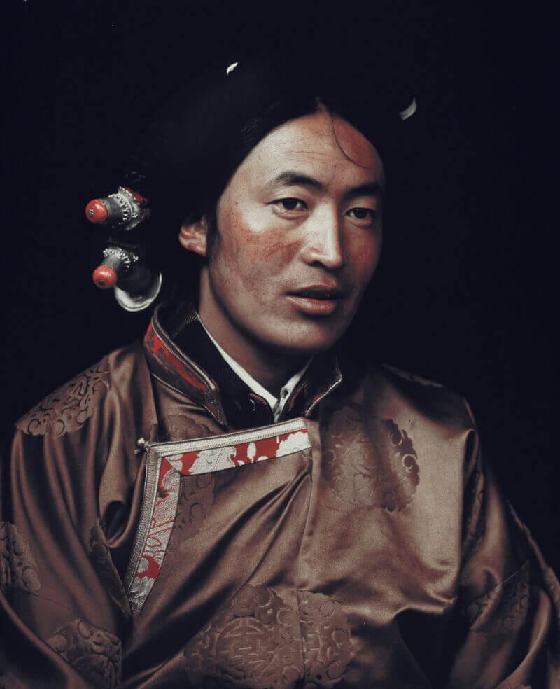 Воин Кхампа, Маркам, Восточный Тибет, 2011