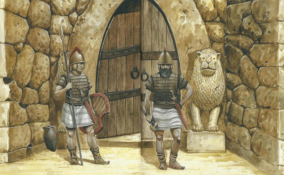 Воины Хуритты в дозоре
