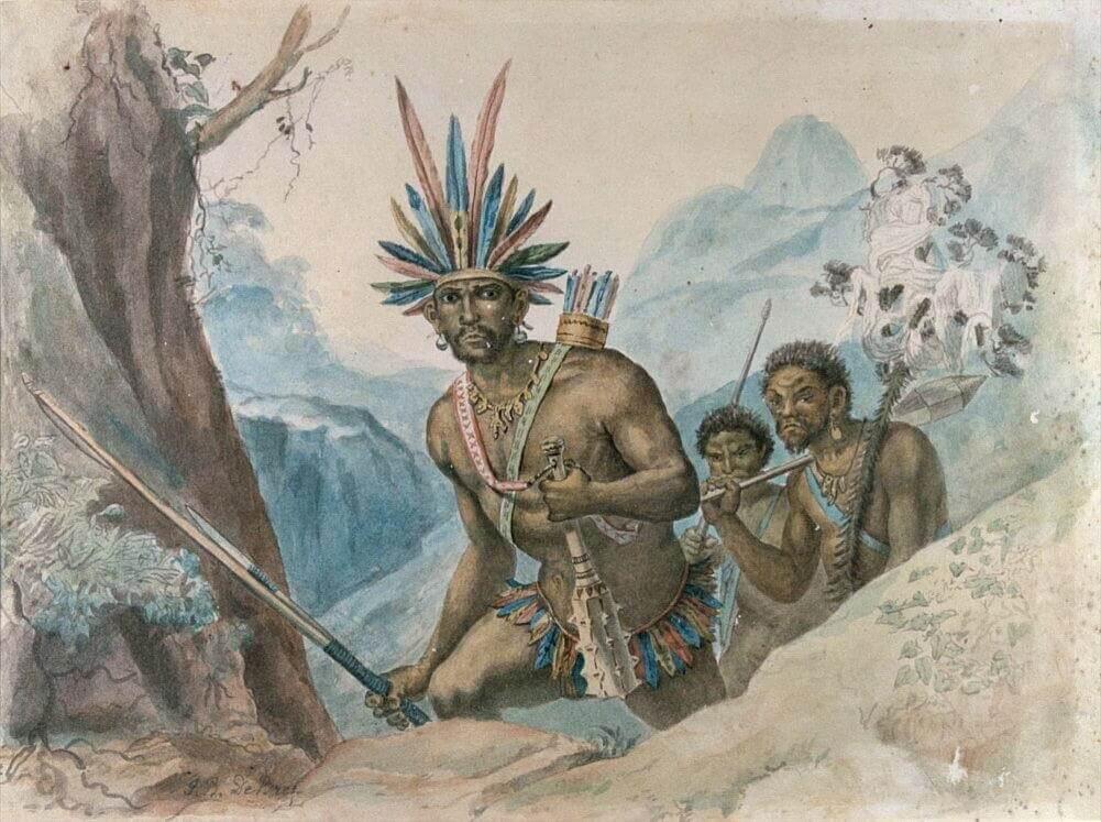 Бразильцы - смешанные племена счастливого народа