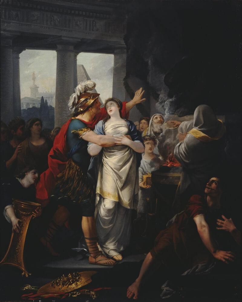 Жан Батист Реньо «Брак Персея и Андромеды»