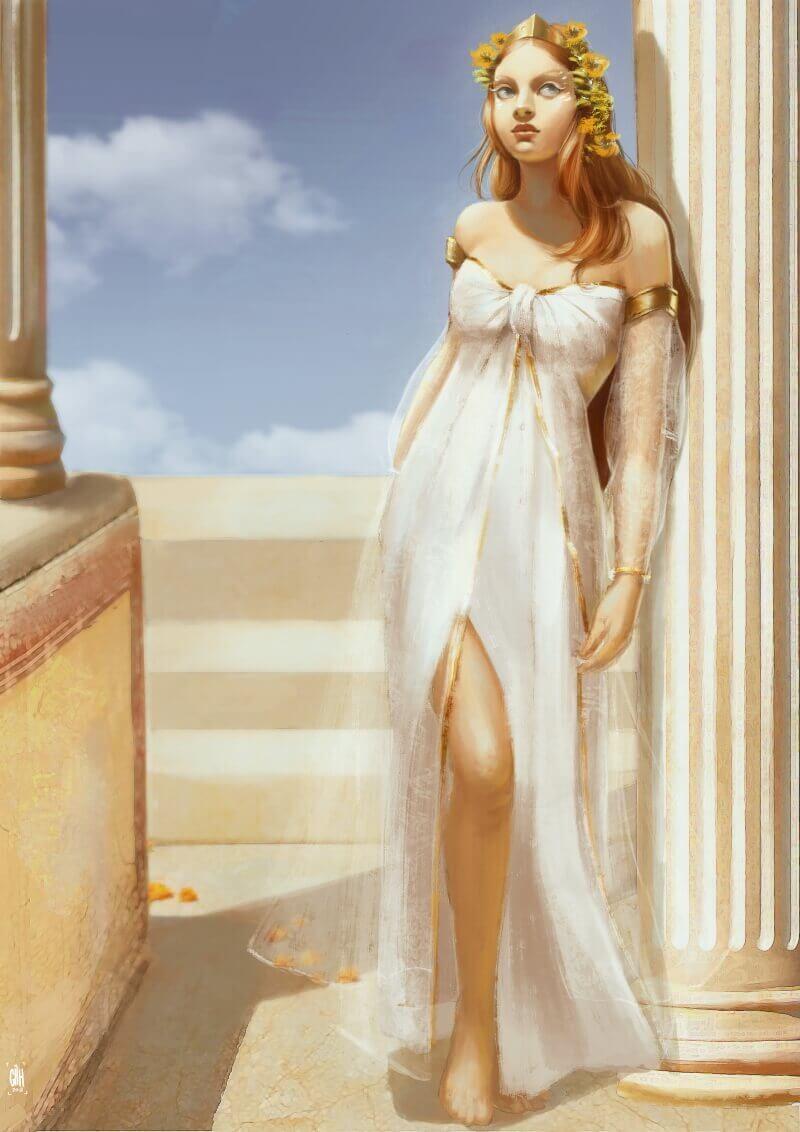 Афродита — покровительница любви в Древней Греции