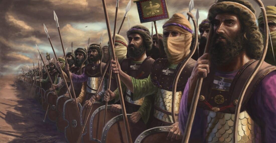 Бессмертная армия в Древней Персии