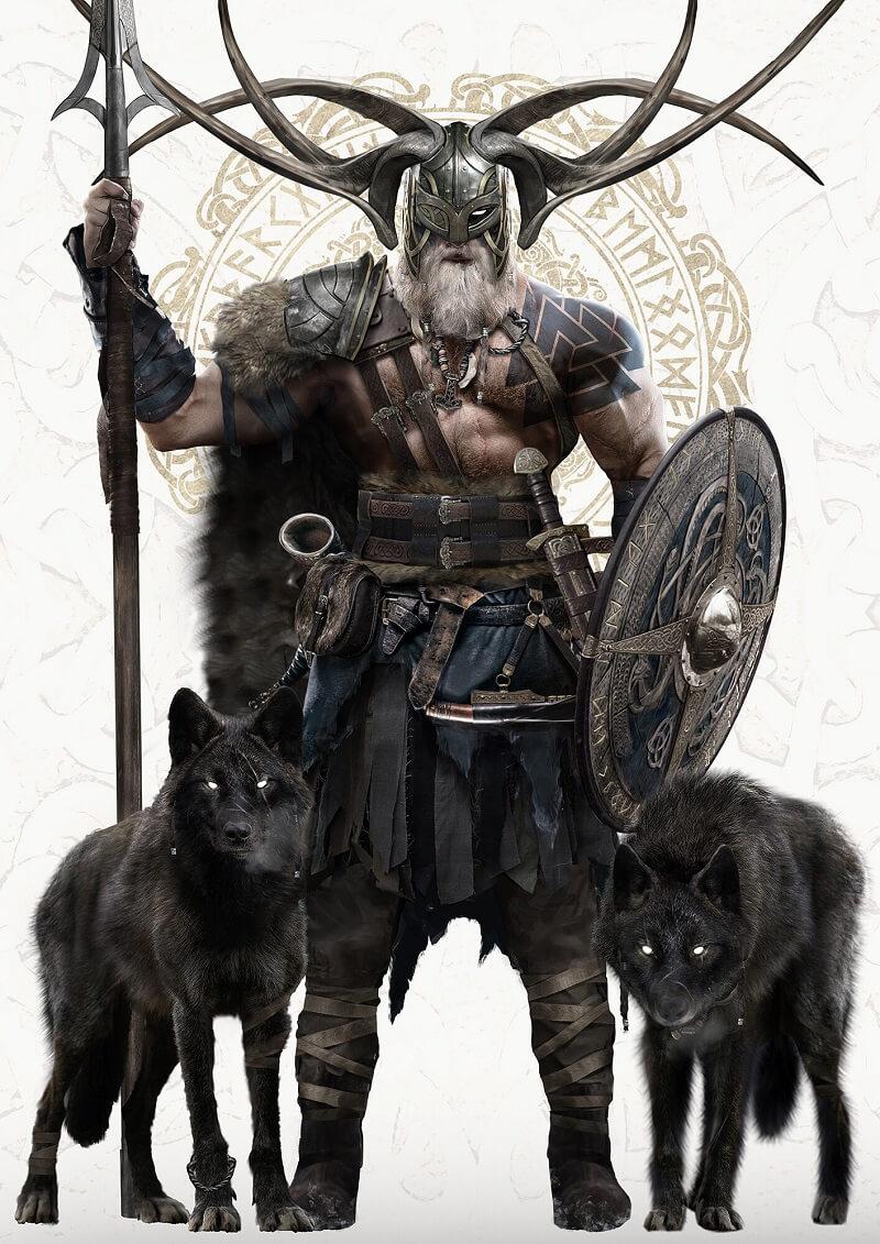 Бог Один и его волки