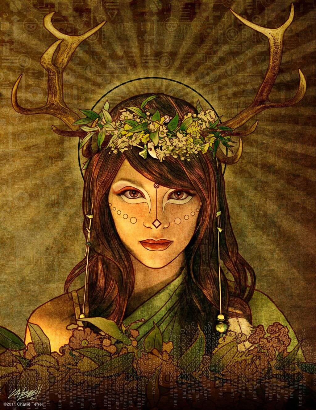 Бригита богиня