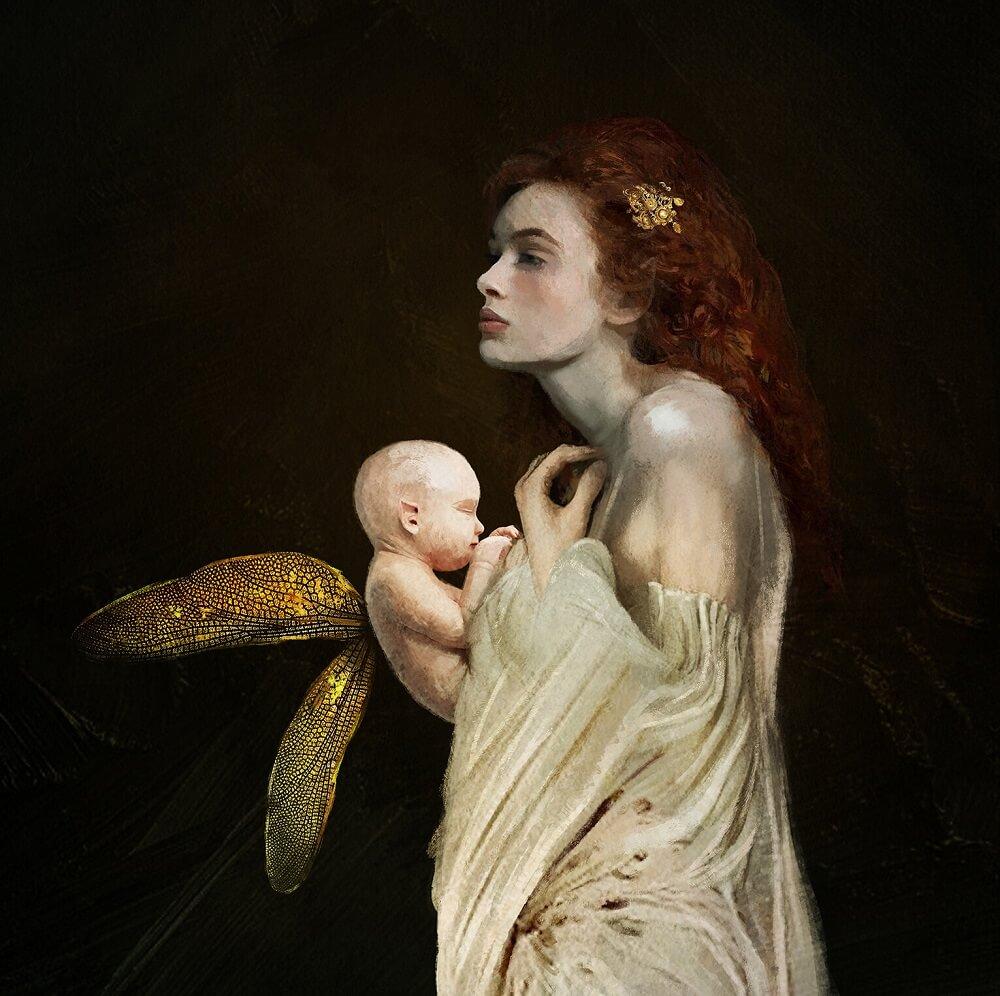 Дану мать эльфов и фейри Xavier Beaudlet