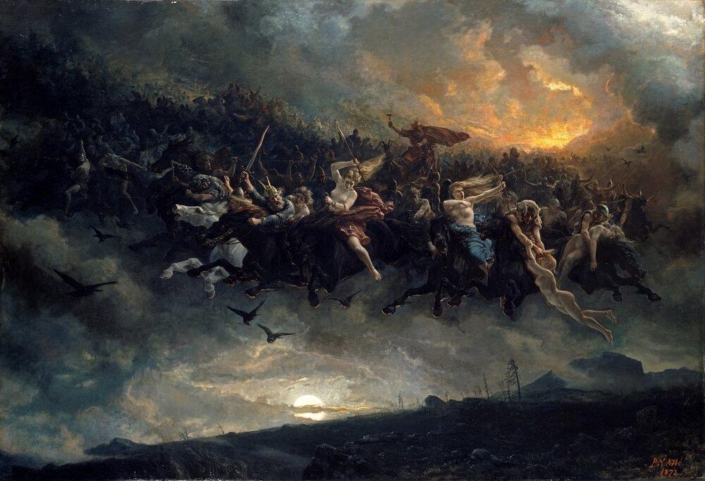 «Дикая Охота Одина» 1872 год