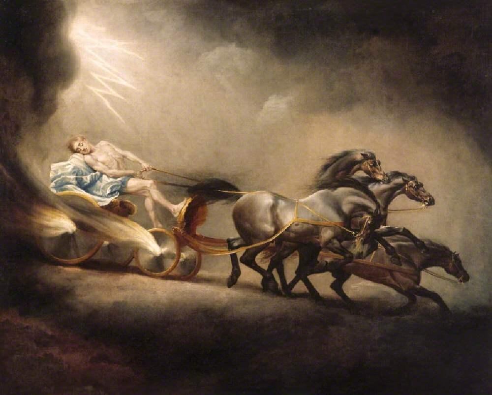 «Падение Фаэтона», 1777 год