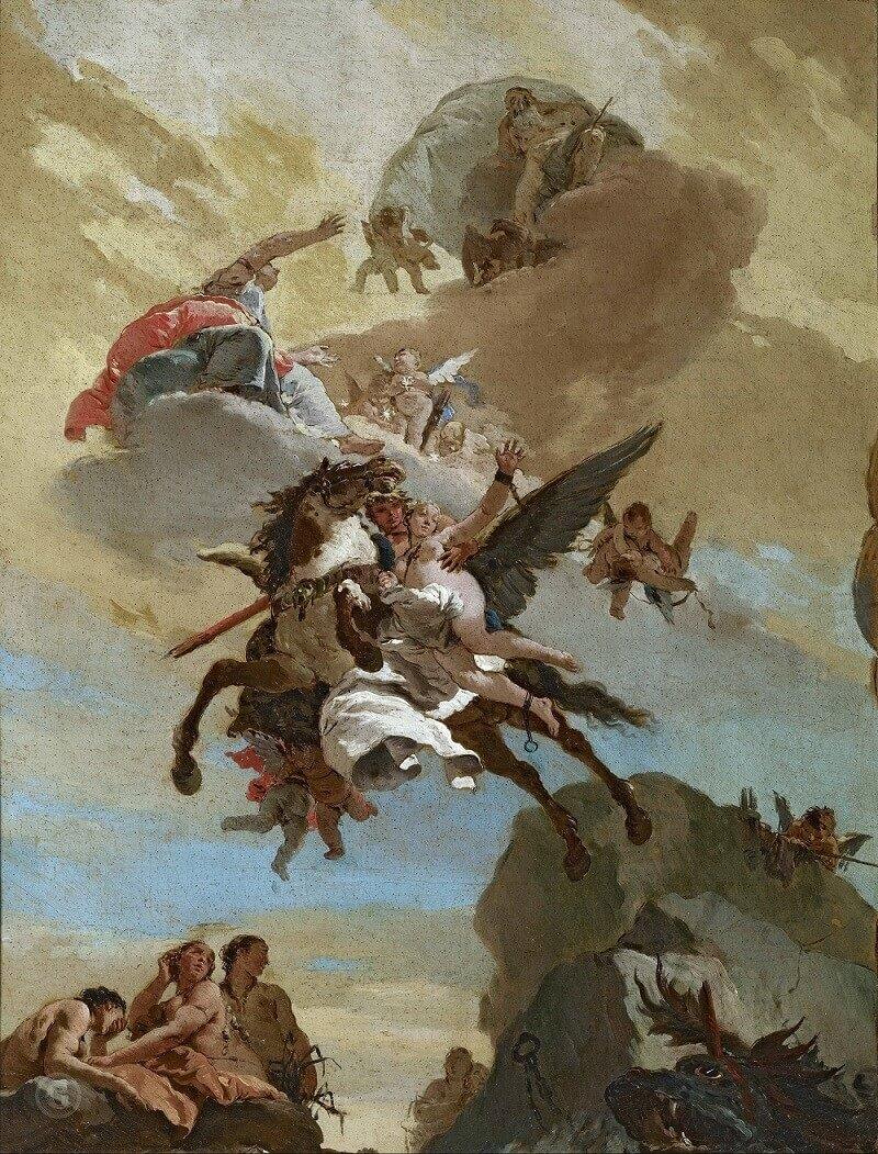 Джованни Баттиста Тьеполо – Персей и Андромеда